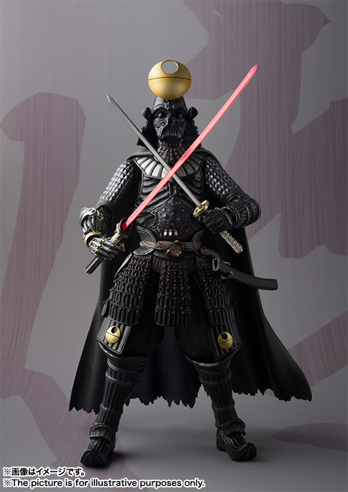 MEI SHO MOVIE REALIZATION SAMURAI TAISYO DARTH VADER ~DEATH STAR ARMOR~ 01