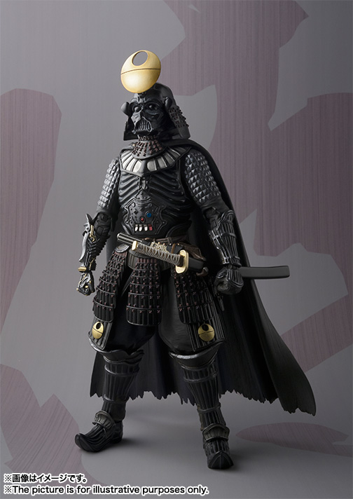 MEI SHO MOVIE REALIZATION SAMURAI TAISYO DARTH VADER ~DEATH STAR ARMOR~ 02