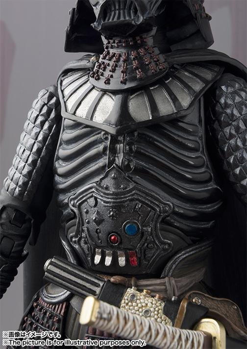 MEI SHO MOVIE REALIZATION SAMURAI TAISYO DARTH VADER ~DEATH STAR ARMOR~ 05