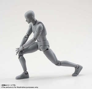 S.H.Figuarts ボディくん DX SET (Gray Color Ver.) 02