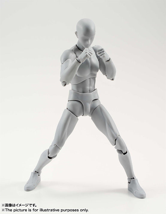 S.H.Figuarts ボディくん DX SET (Gray Color Ver.) 06