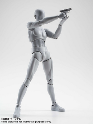 S.H.Figuarts ボディくん DX SET (Gray Color Ver.) 08