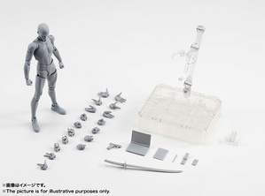 S.H.Figuarts ボディくん DX SET (Gray Color Ver.) 11