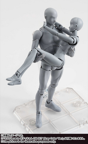 S.H.Figuarts ボディくん DX SET (Gray Color Ver.) 15
