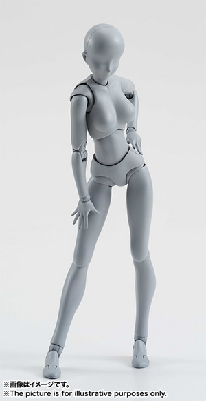 S.H.Figuarts ボディちゃん DX SET (Gray Color Ver.) 01