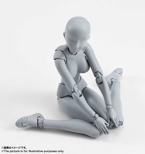 S.H.Figuarts ボディちゃん DX SET (Gray Color Ver.) 02