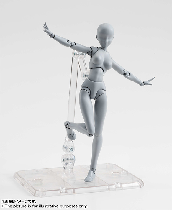 S.H.Figuarts ボディちゃん DX SET (Gray Color Ver.) 04