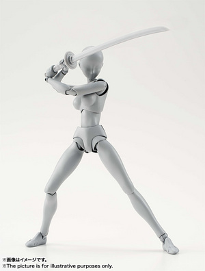 S.H.Figuarts ボディちゃん DX SET (Gray Color Ver.) 06