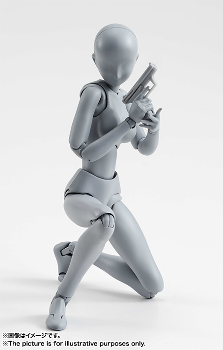 S.H.Figuarts ボディちゃん DX SET (Gray Color Ver.) 07