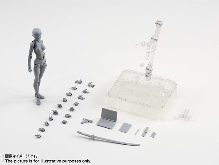 S.H.Figuarts ボディちゃん DX SET (Gray Color Ver.) 11