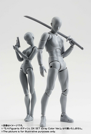 S.H.Figuarts ボディちゃん DX SET (Gray Color Ver.) 13