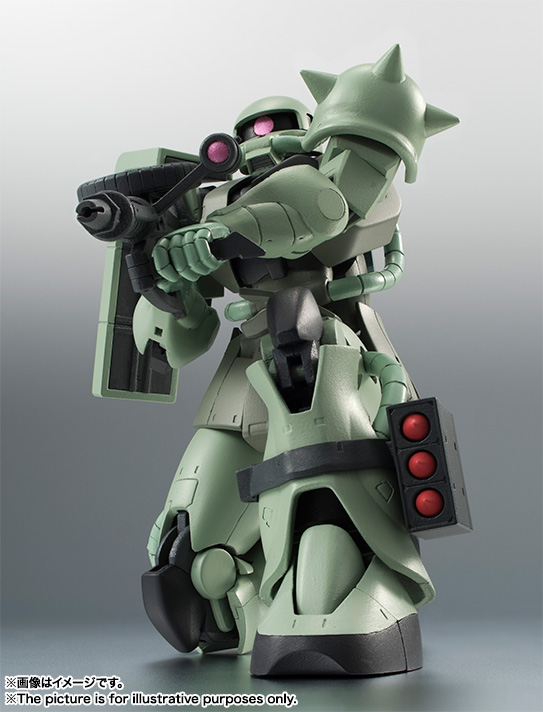 ROBOT魂 <SIDE MS> MS-06 量産型ザク ver. A.N.I.M.E. 02
