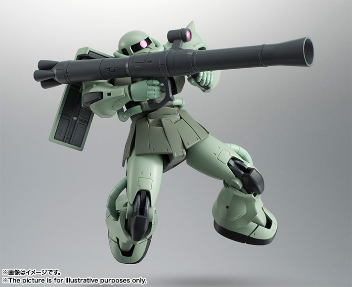 ROBOT魂 <SIDE MS> MS-06 量産型ザク ver. A.N.I.M.E. 04