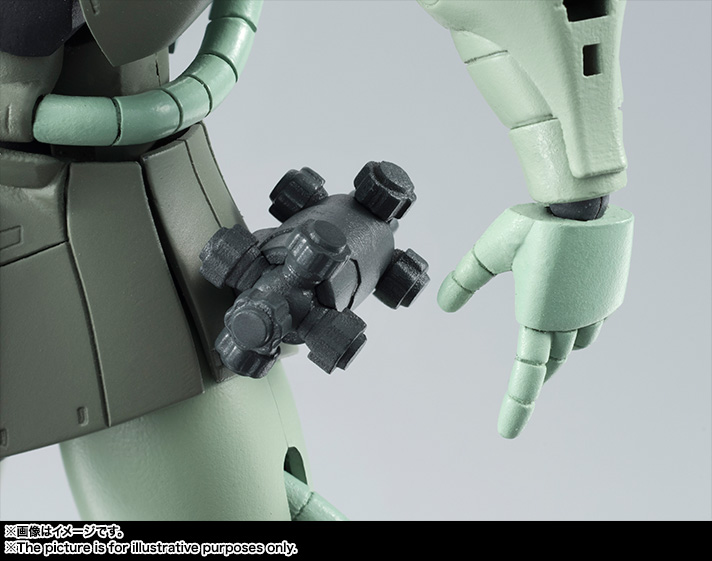 ROBOT魂 <SIDE MS> MS-06 量産型ザク ver. A.N.I.M.E. 06