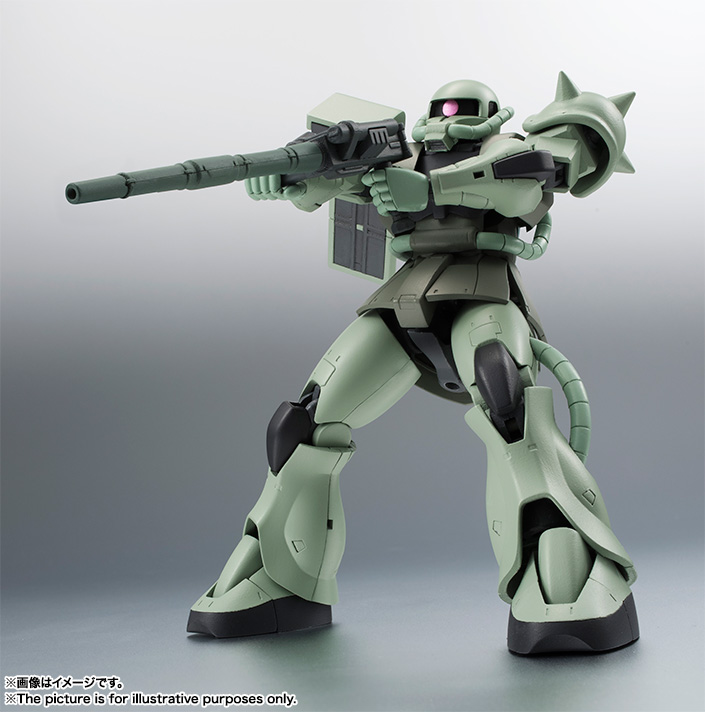 ROBOT魂 <SIDE MS> MS-06 量産型ザク ver. A.N.I.M.E. 07