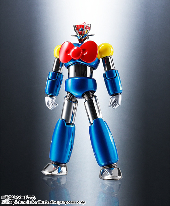 CHOGOKIN  Mazinger Z (HELLO KITTY color) 01