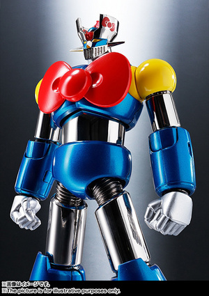 CHOGOKIN  Mazinger Z (HELLO KITTY color) 02
