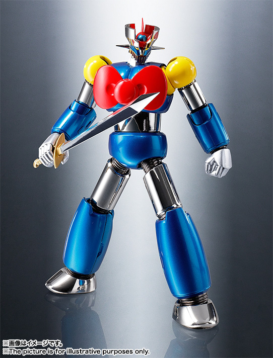 CHOGOKIN  Mazinger Z (HELLO KITTY color) 03
