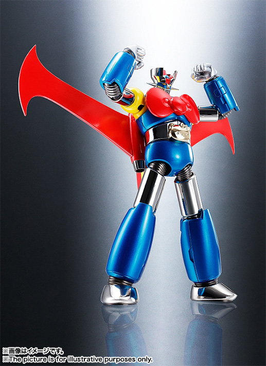 CHOGOKIN  Mazinger Z (HELLO KITTY color) 04