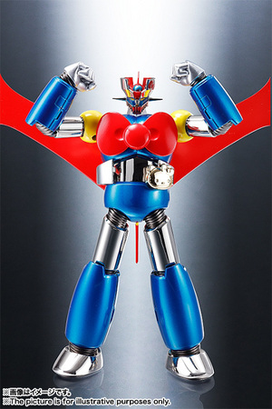 CHOGOKIN  Mazinger Z (HELLO KITTY color) 06