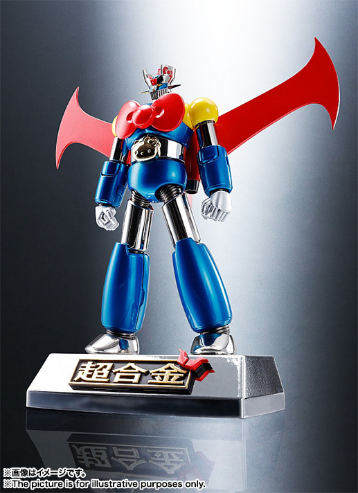 CHOGOKIN  Mazinger Z (HELLO KITTY color) 07