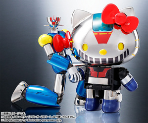 CHOGOKIN  Mazinger Z (HELLO KITTY color) 09