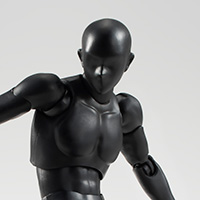 S.H.Figuarts ボディくん(Solid black Color Ver.)