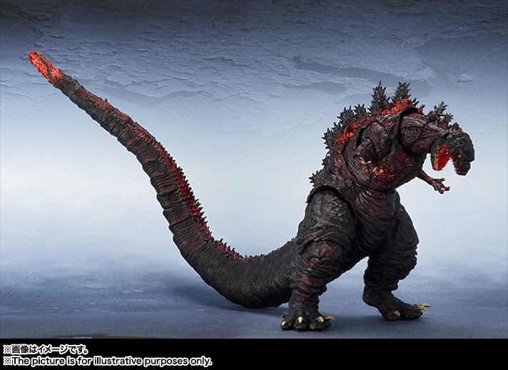 S.H.MonsterArts ゴジラ(2016) 09