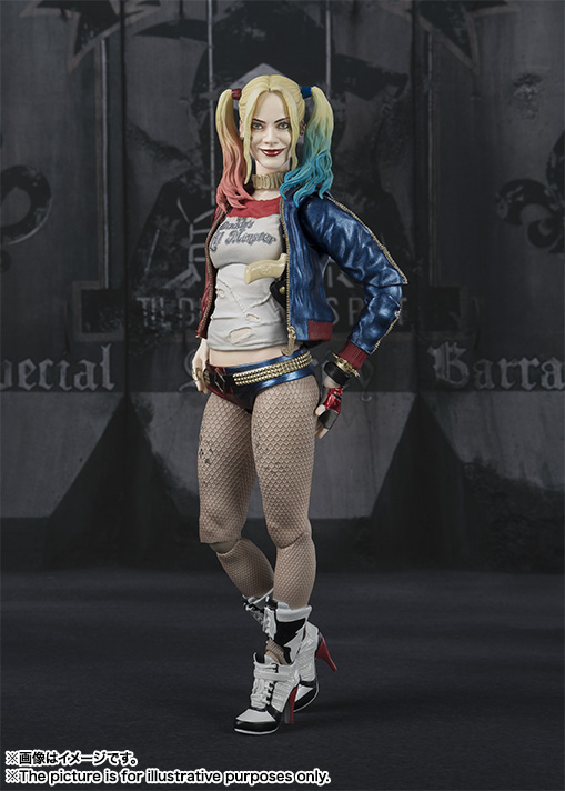 SHFiguarts Harley Quinn (Suicide Squad) 02