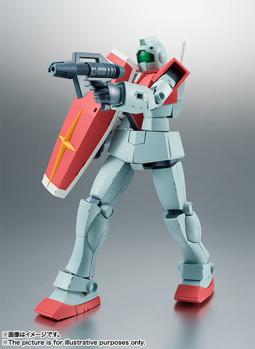 THE ROBOT SPIRITS <SIDE MS> RGM-79 ジム ver. A.N.I.M.E. 02
