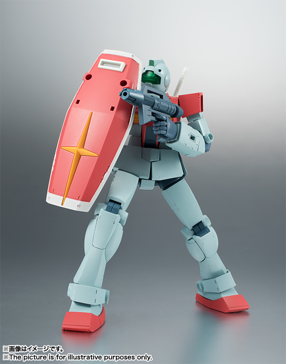 THE ROBOT SPIRITS <SIDE MS> RGM-79 ジム ver. A.N.I.M.E. 05