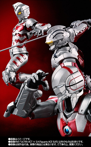 ULTRA-ACT ULTRA-ACT × S.H.Figuarts ACE SUIT 09