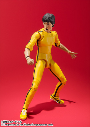 S.H.Figuarts ブルース・リー(Yellow Track Suit) 01