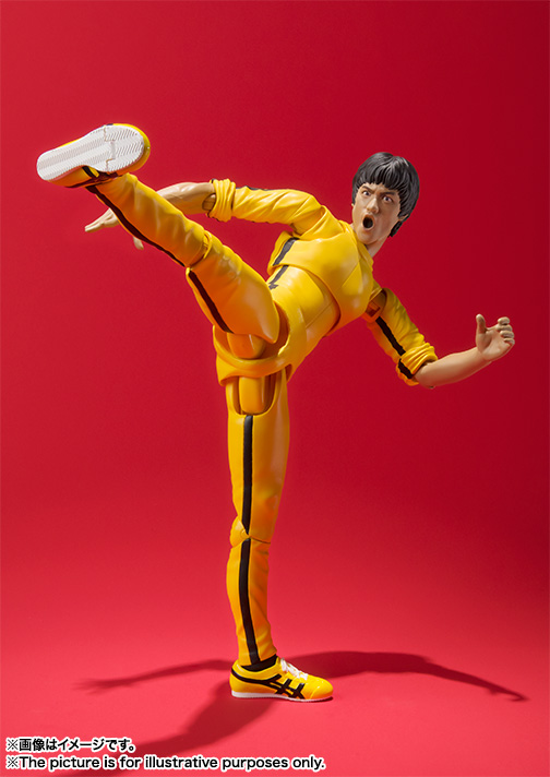S.H.Figuarts ブルース・リー(Yellow Track Suit) 02