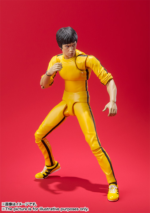 S.H.Figuarts ブルース・リー(Yellow Track Suit) 03