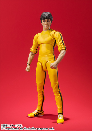 S.H.Figuarts ブルース・リー(Yellow Track Suit) 04