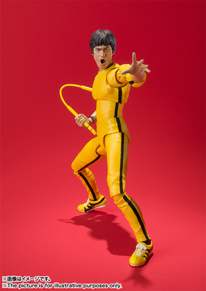 S.H.Figuarts ブルース・リー(Yellow Track Suit) 05