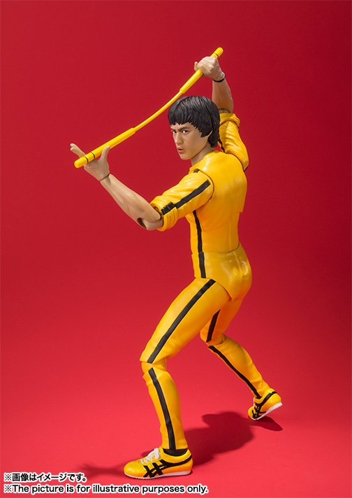 S.H.Figuarts ブルース・リー(Yellow Track Suit) 06