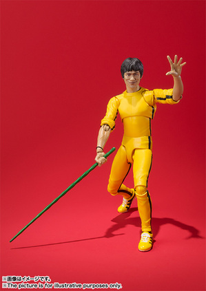 S.H.Figuarts ブルース・リー(Yellow Track Suit) 07