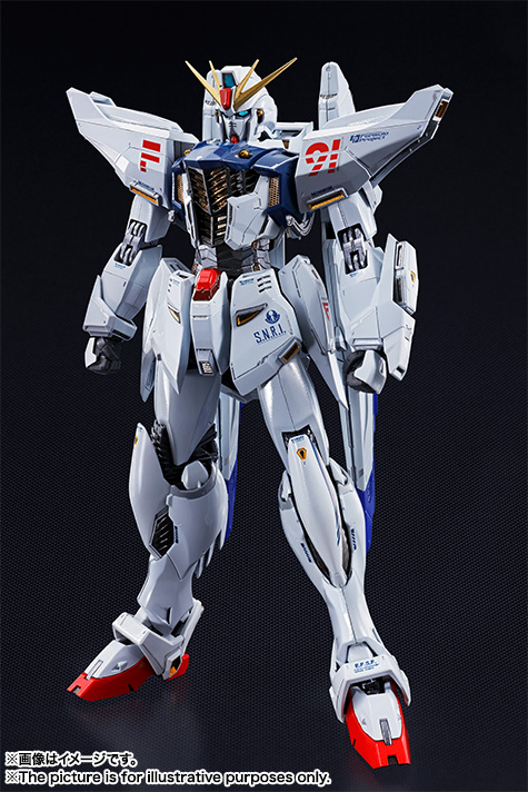 METAL BUILD ガンダムF91 02
