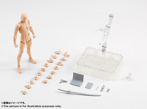 S.H.Figuarts ボディくん DX SET(Pale orange Color Ver.) 09