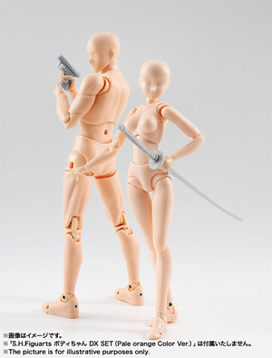 S.H.Figuarts ボディくん DX SET(Pale orange Color Ver.) 10
