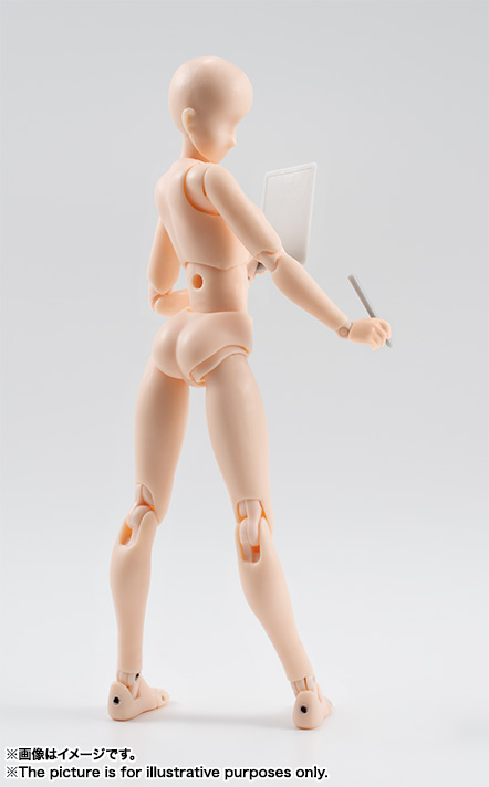 S.H.Figuarts ボディちゃん DX SET(Pale orange Color Ver.) 07