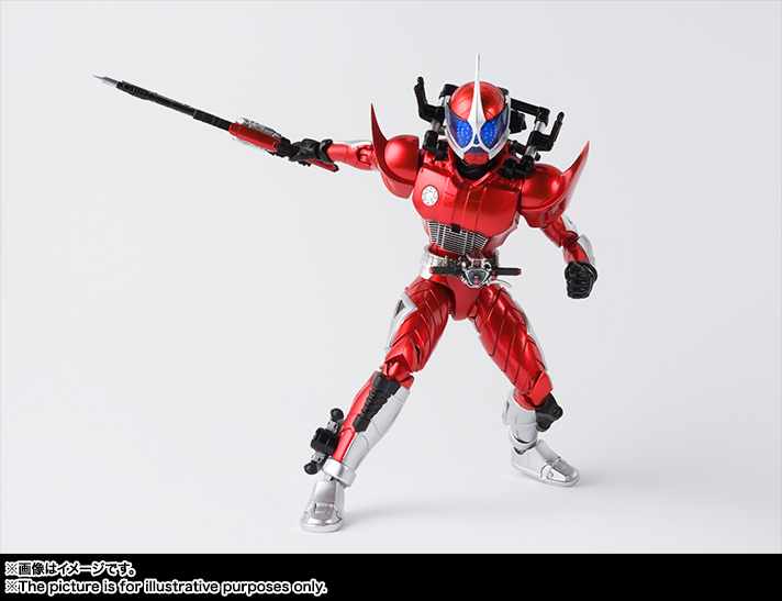 S.H.Figuarts(真骨彫製法) 仮面ライダーアクセル 02