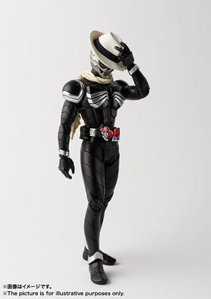 S.H.Figuarts(真骨彫製法) 仮面ライダースカル 02