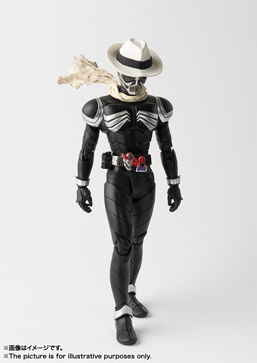 S.H.Figuarts(真骨彫製法) 仮面ライダースカル 03