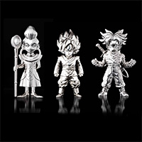 Mass of superalloy Dragon Ball super Characters