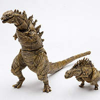 SHMonsterArts Godzilla (2016) second form & third form Godzilla store limited color Ver.