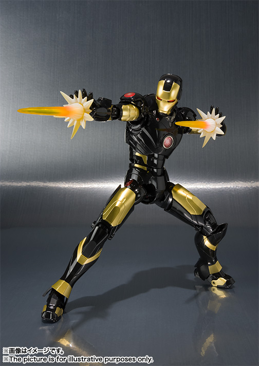 S.H.Figuarts アイアンマン マーク3 -MARVEL AGE OF HEROES EXHIBITION 開催記念カラー- 04