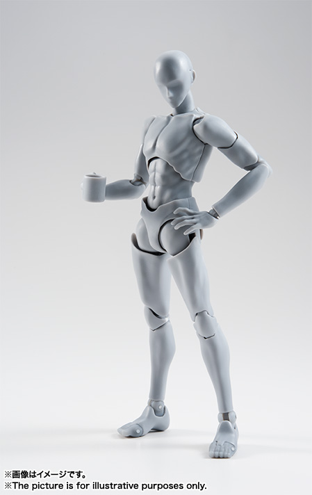 S.H.Figuarts ボディくん -宝井理人- Edition DX SET (Gray Color Ver.)  02